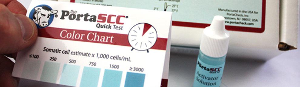 porta scc colour chart